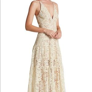 Nordstrom off-white lace dress (used)